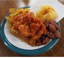 アフリカの食事